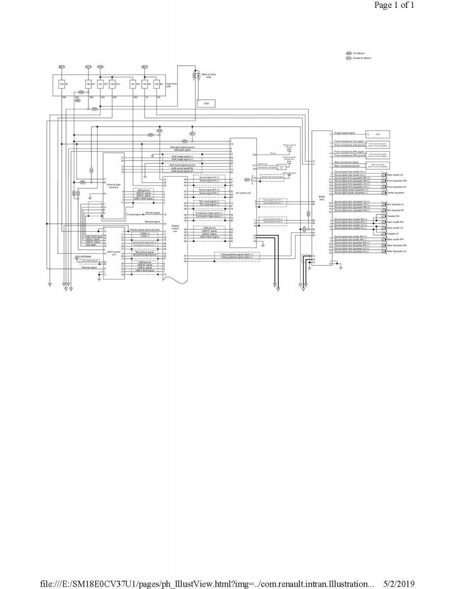 Bose Wiring Diagram Infiniti Q60 Forums
