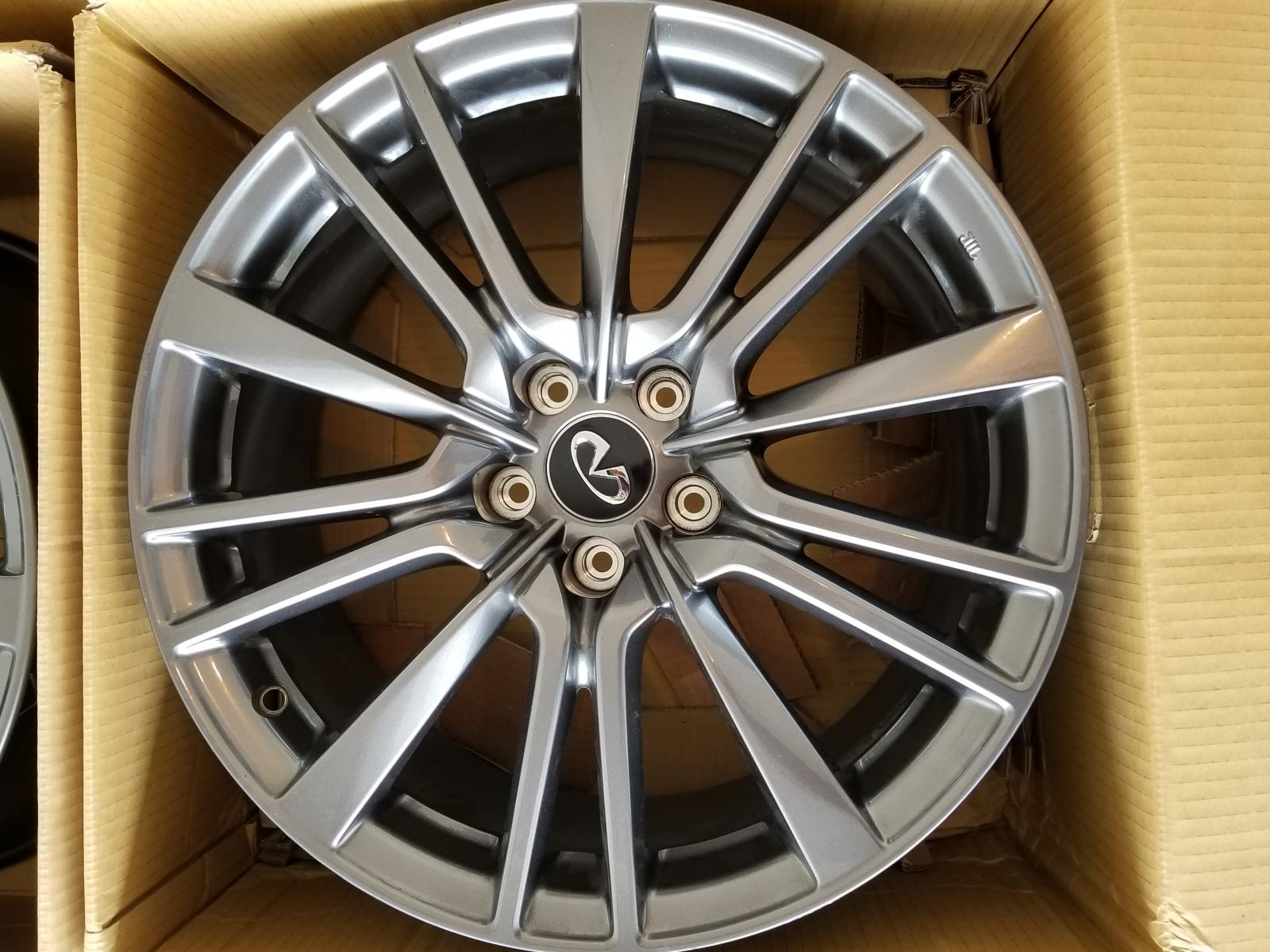 "WTB Q60 19"" smoke colored oem wheel Infiniti Q60 Forum"