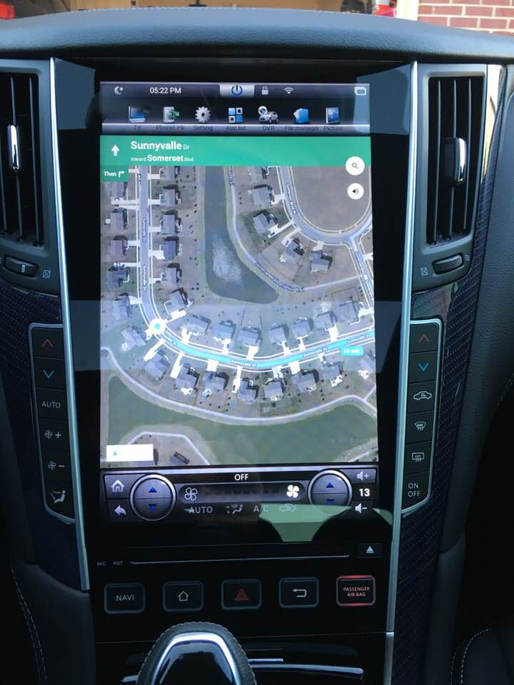 Tesla Style Android Unit Page 3 Infiniti Q60 Forum