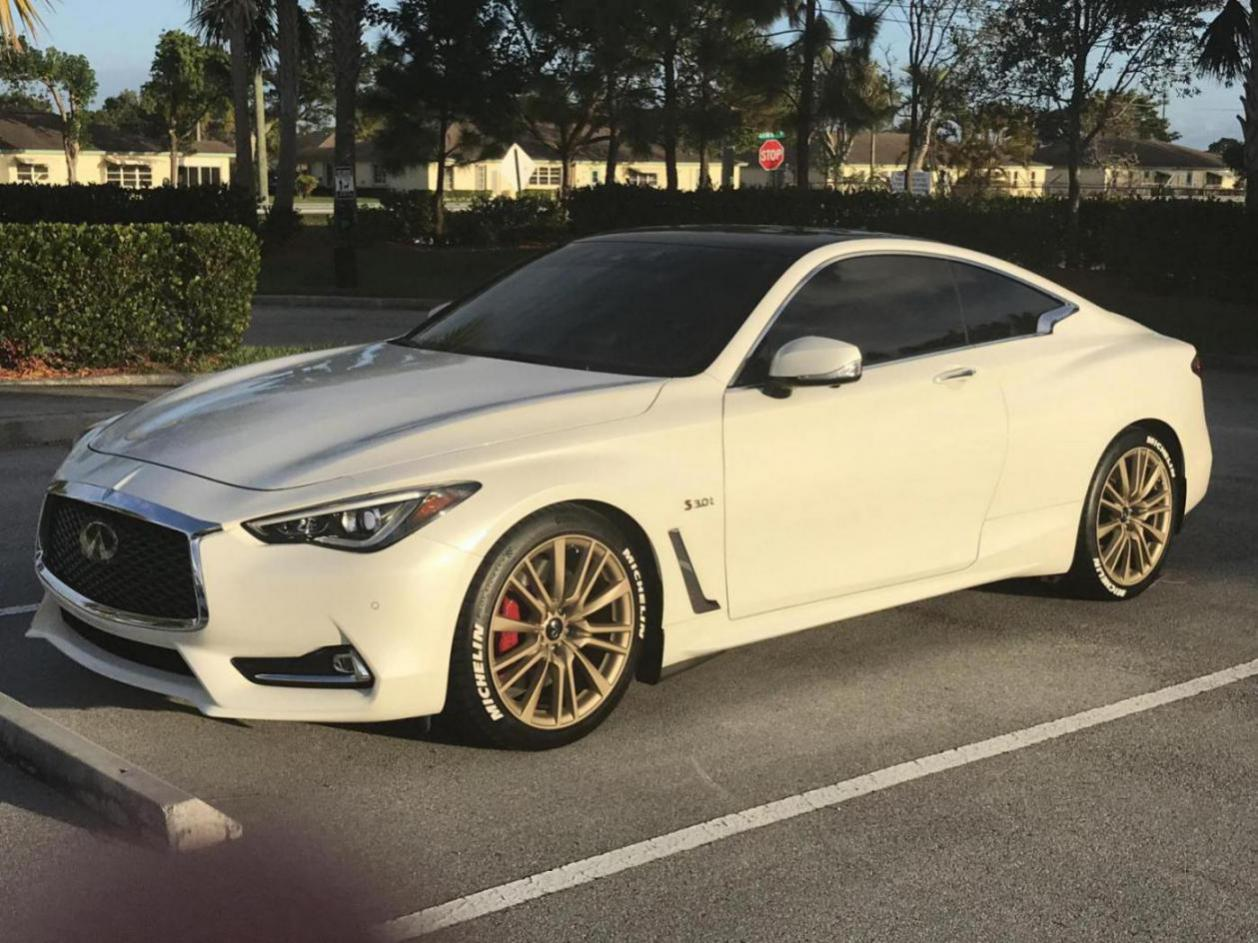 michelin tire letters gold dipped wheels infiniti q60 forum