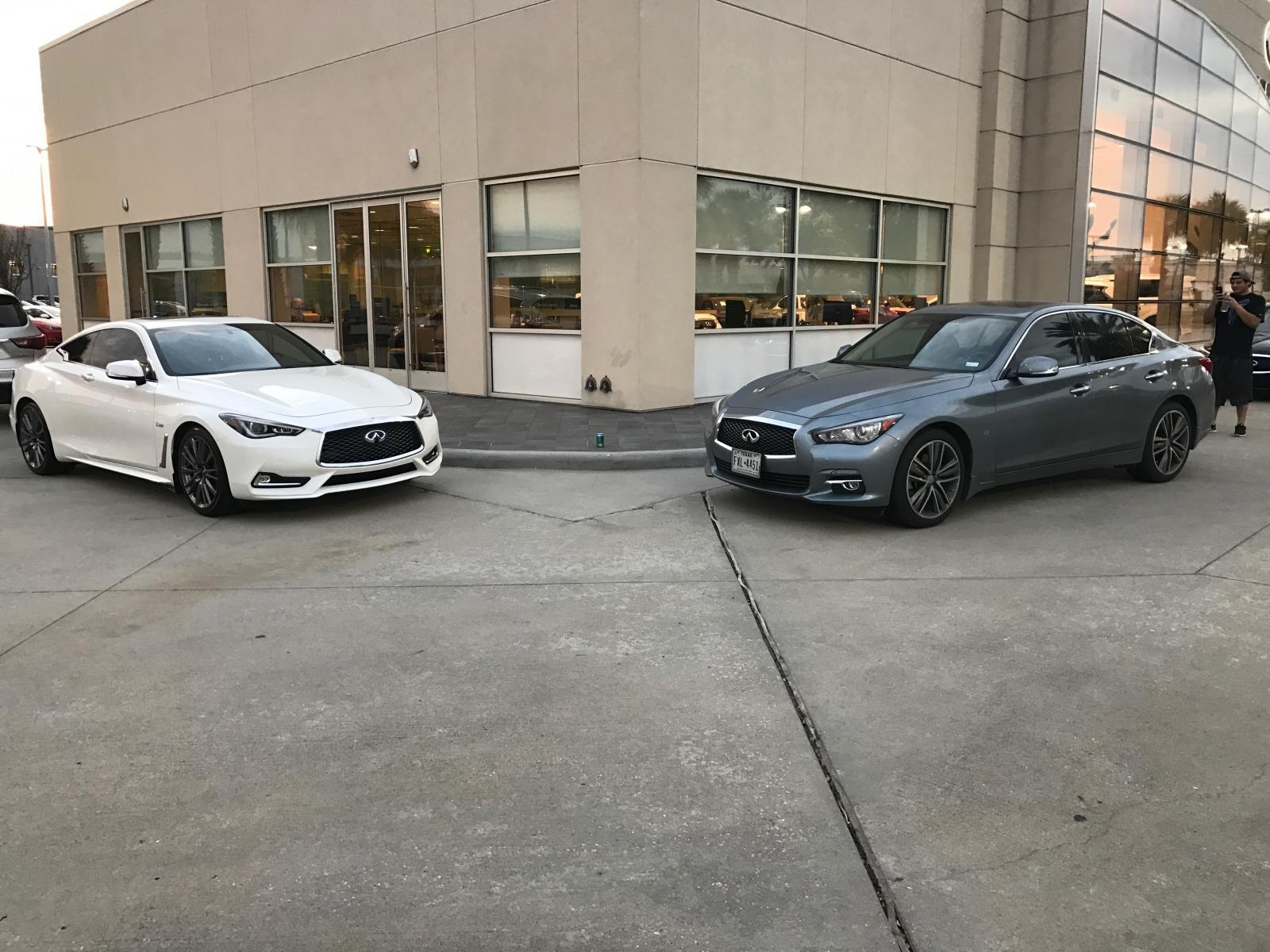 Sewell Infiniti Houston >> New Q60RS Majestic White - Infiniti Q60 Forum